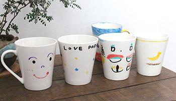 オリジナルマグカップの作り方