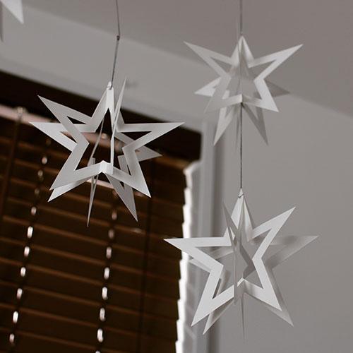 モビール素材 星 スター クリスマス