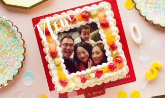 【ピクトケーキ】スマホのお気に入り写真でケーキが作れる!サプライズな誕生日ケーキ