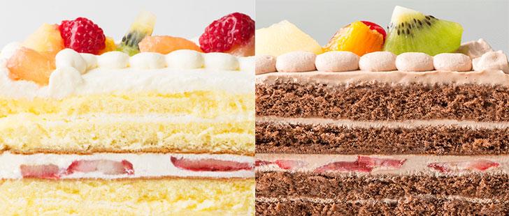 ピクトケーキのケーキの味
