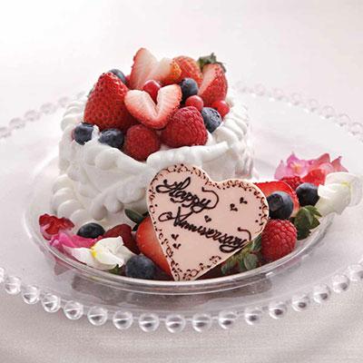 日比谷パレス 誕生日ケーキ
