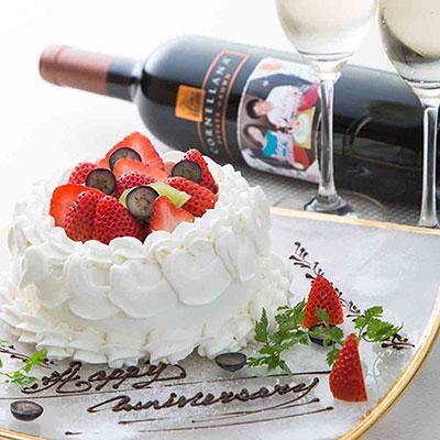 クルーズ・クルーズ新宿の誕生日ケーキ