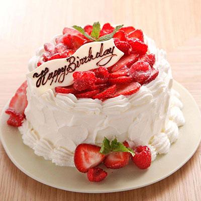 メゾンプルミエールアットロビンズの誕生日ケーキ