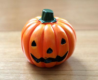 レジンオブジェ かぼちゃ 100均ハロウィングッズ