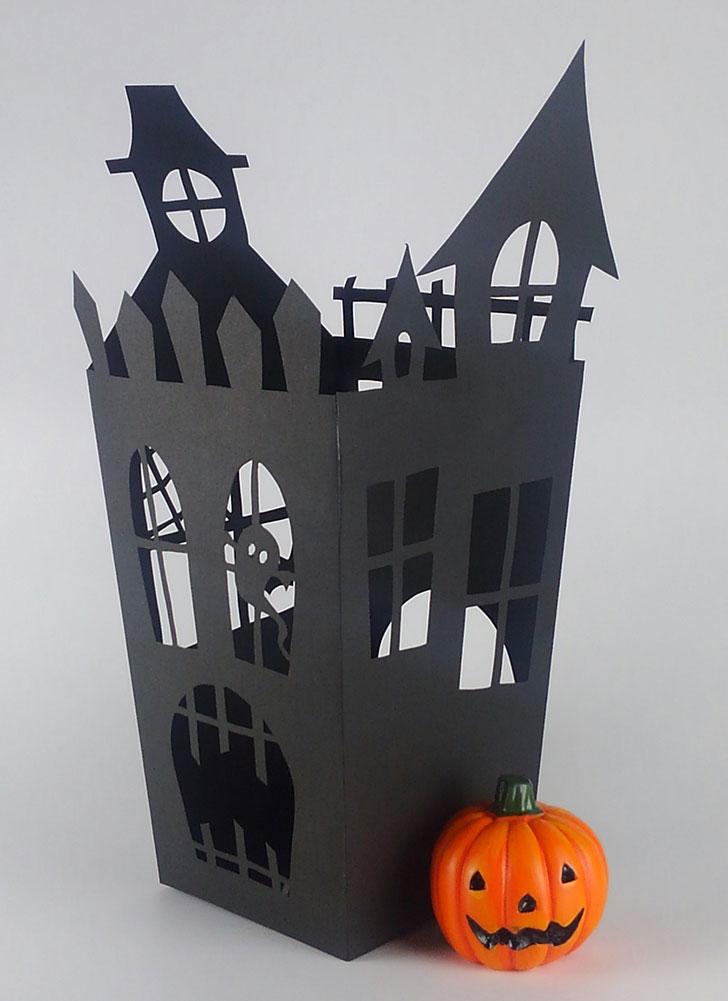 ハロウィン ホーンテッドハウス ポップコーンボックス