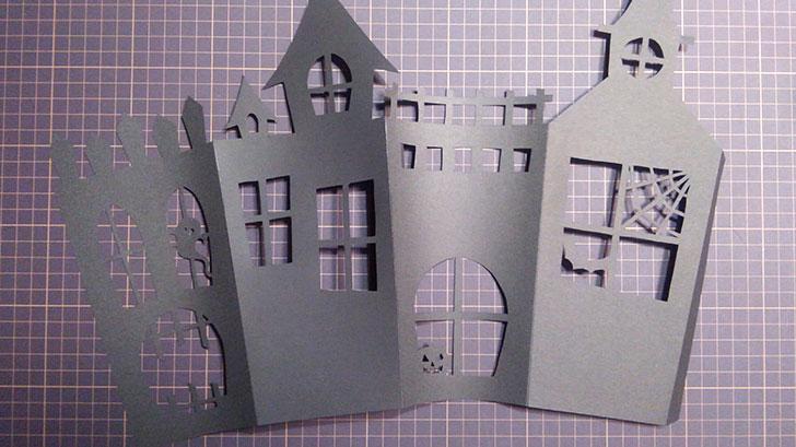 ホーンテッドハウス ポップコーンボックス 作り方 組み立てる
