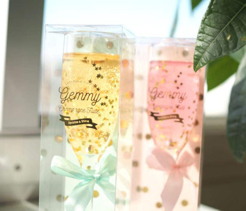 GEMMYシャンパンフルート タイムの香り/ピオニーの香り|キャンドル