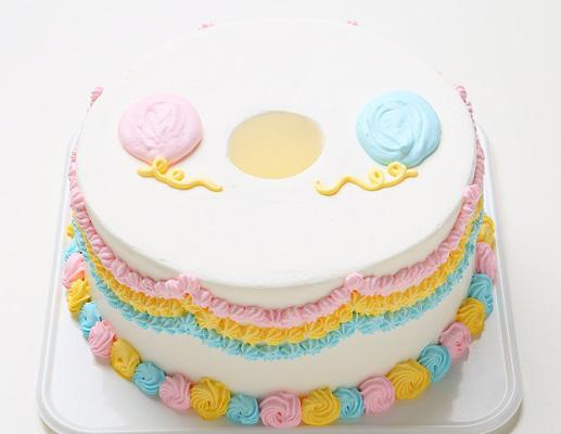バルーンパーティー おしゃれで可愛いバースデーケーキ