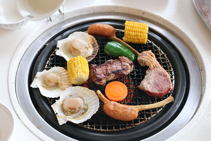 ブルーベリーヒル勝浦 バーベキュー BBQ