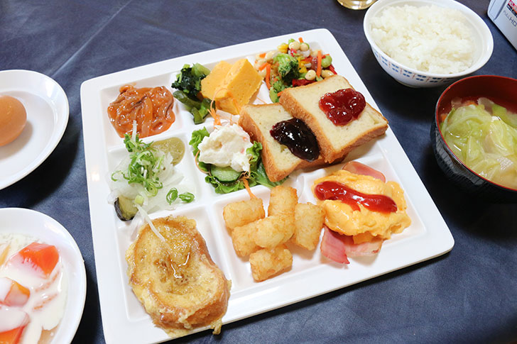 ブルーベリーヒル勝浦 朝食