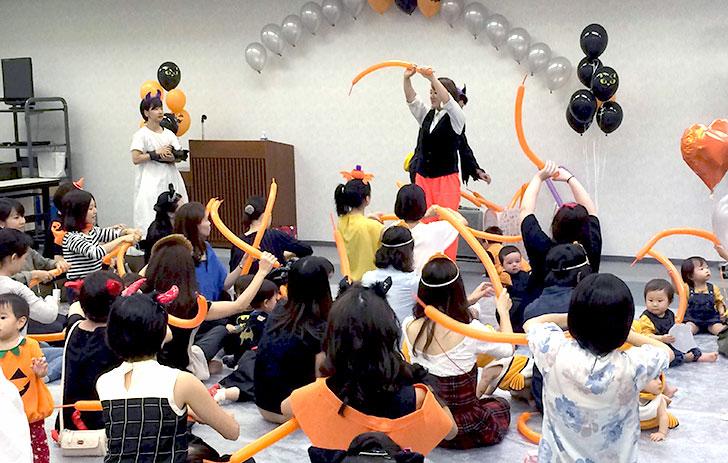 バルーンアート教室 湾岸キッズ ハロウィンパーティーイベント