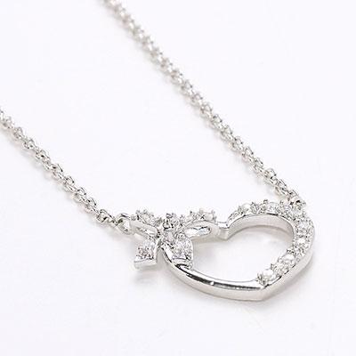 オープンハートのネックレス   3000円 プレゼント 女性
