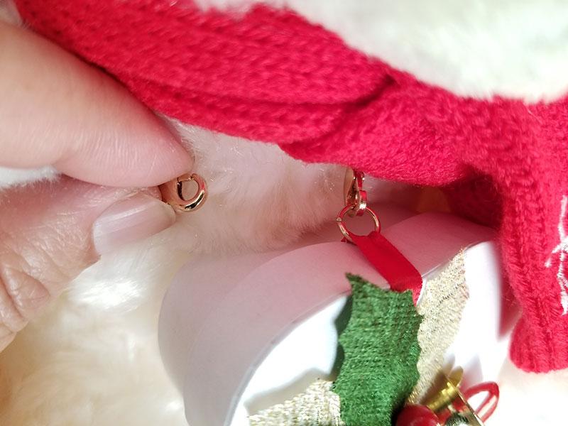 Jwell クリスマス限定 テディベア&シルバーネックレス ハートボックスの外し方