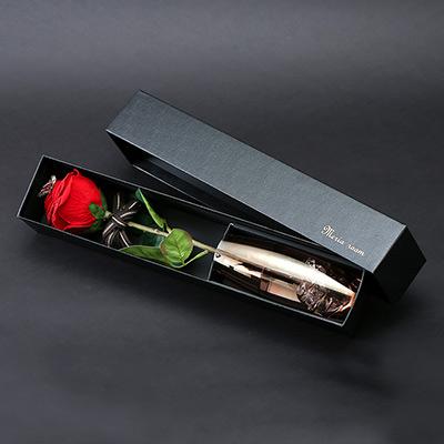 【誕生日・プロポーズ・記念日】メッセージフラワー 人気No.1赤バラ(名前刺繍入り)
