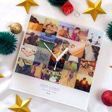 付き合って1周年プレゼントに!思い出写真をいっぱい詰め込んで贈る時計のギフト