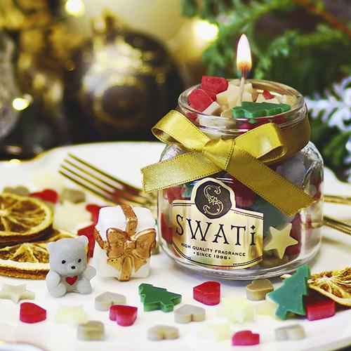 SWATi スワティ コンペイトウキャンドル~Month~ Noel おしゃれで可愛いインスタ映えクリスマスプレゼント