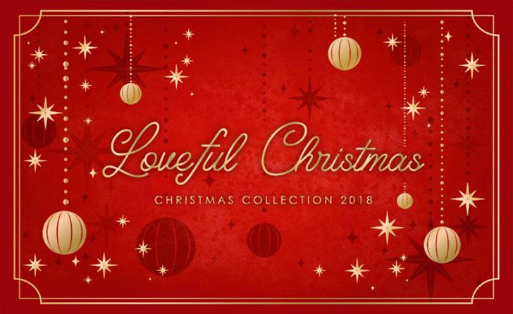THE KISSのクリスマスコレクション2018のイメージ