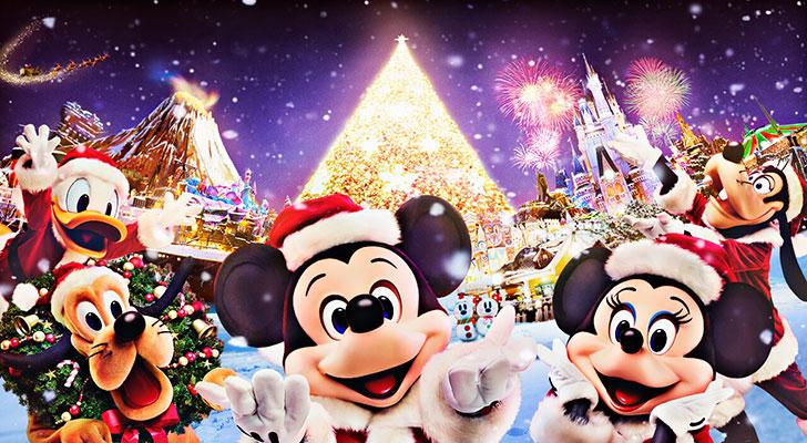 東京ディズニーランド クリスマスファンタジー  クリスマスイルミネーション