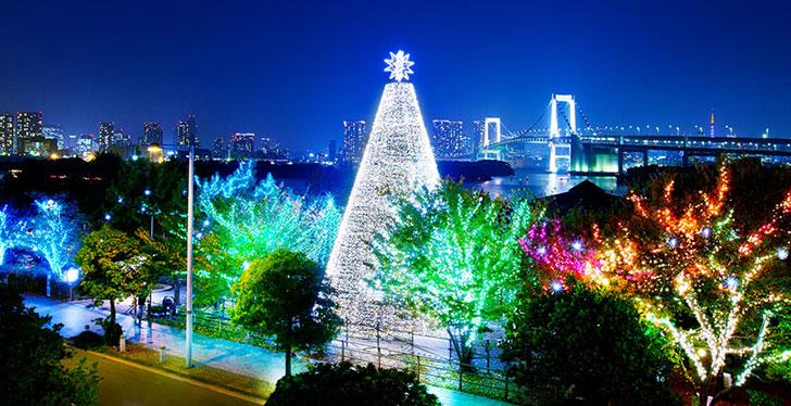"""お台場イルミネーション""""YAKEI"""" クリスマスイルミネーション"""