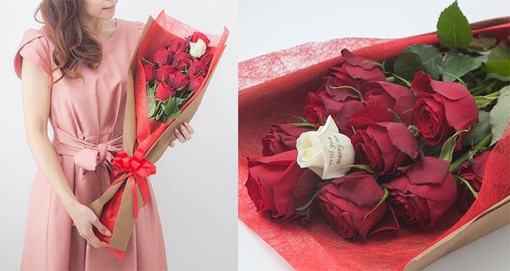 女性の憧れ!思い出の数で束ねる花束