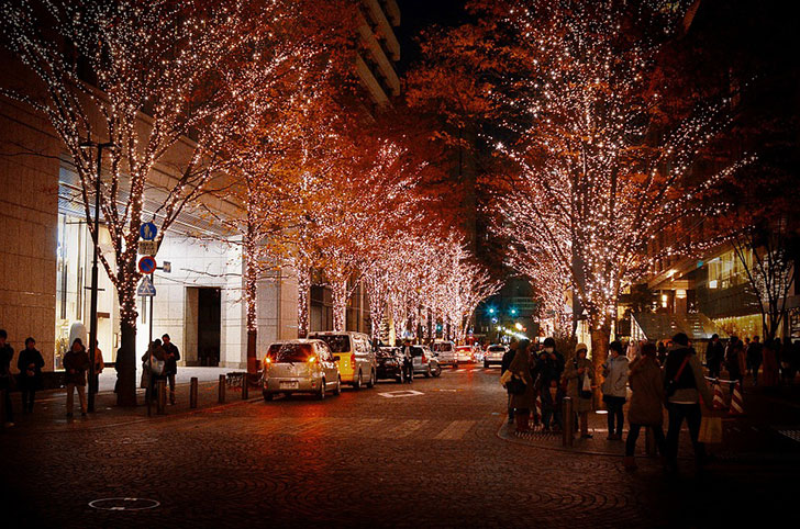 サプライズ10〜イルミネーションドライブの最後に抱えきれない程の花束を〜クリスマスプロポーズ