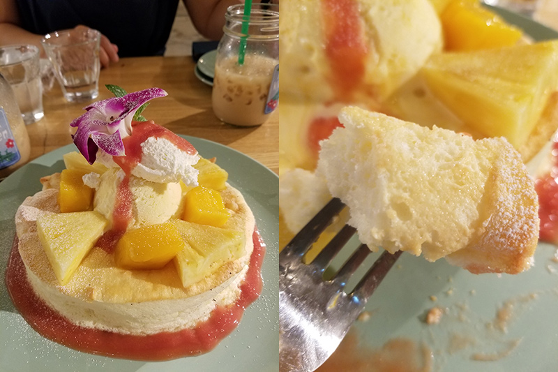 アロハキッチン 吉祥寺店 トロピカルパンケーキ