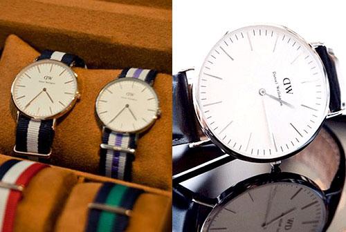 ダニエルウェリントンの腕時計 大学生彼氏の誕生日プレゼント