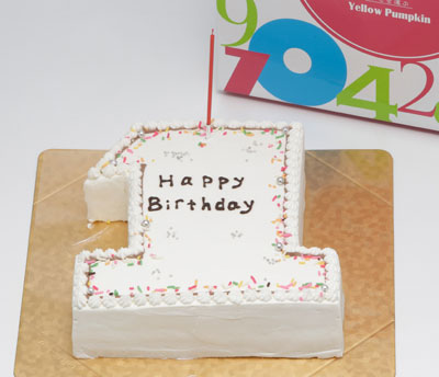 ナンバーケーキ 数字のケーキ