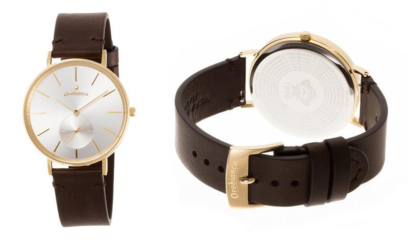 オロビアンコの腕時計「Semplicitus」