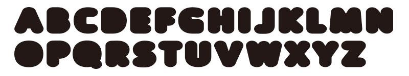 フロップデザインの「prefuse(プレフューズ)」という欧文フォント