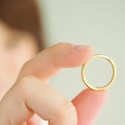 名もなき指輪 結婚指輪