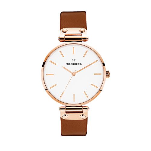 モックバーグの腕時計「Original38 Brown,RoseGold」
