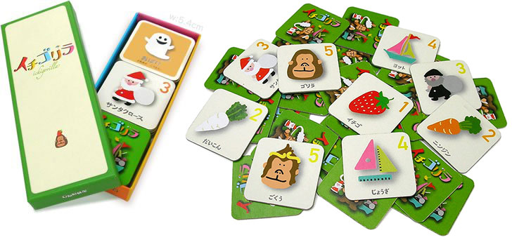 イチゴリラ すごろくや カードゲーム
