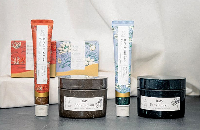 SWATi】Hand Cream & Raw Body Creamセット