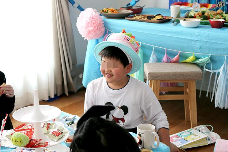 ツムツム誕生日パーティー バースデーボーイから最後の挨拶