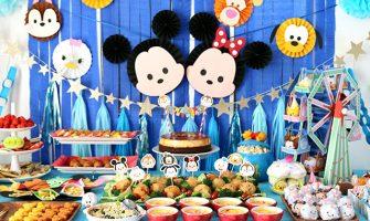 ディズニーツムツムをテーマにした誕生日パーティー演出・飾り付け
