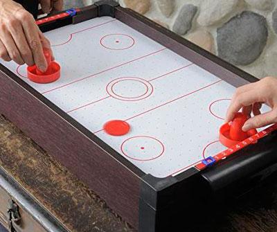 自宅でエアーホッケーが遊べる!「エアーホッケーテーブルトップゲーム」