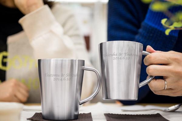 鉄婚式 マグカップ