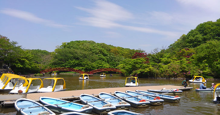 ボート乗り場 こどもの国 横浜 自然の遊び場