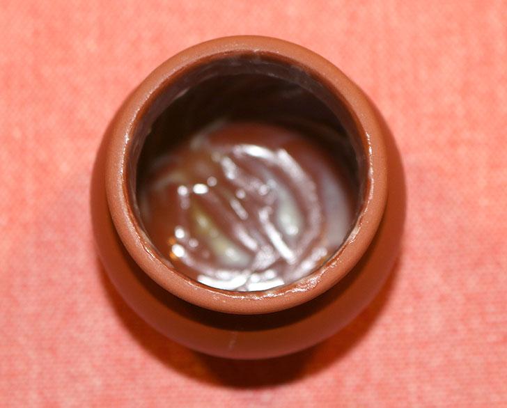 神戸魔法の壷プリン 完食後の状態