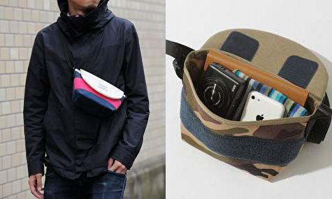 旅先や普段の街歩きに使える!ミニマムサイズのバッグ「FLOPPY メッセンジャー MINI」