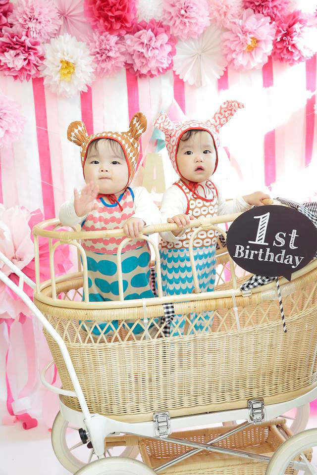 PINK!PINK!春のハッピーフォトブース 双子