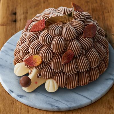 ハリネズミみたいな可愛いアイスケーキ「クリソン」