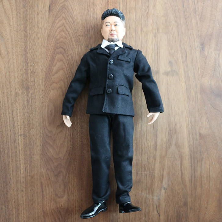 旦那さんにそっくりな人形・フィギュアを作ってサプライズプレゼント!