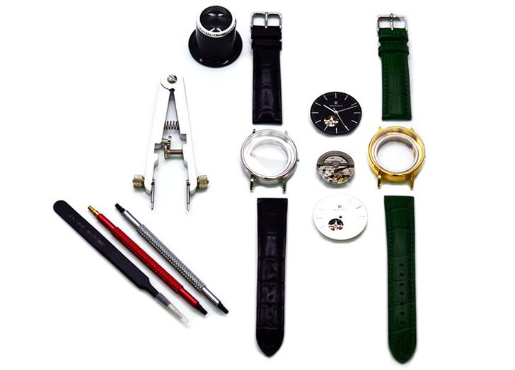 カスタムオーダー腕時計のイメージ