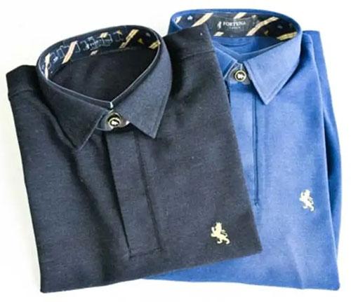 シンプルで上品なFORTUNA Tokyoの「キングポロシャツ」