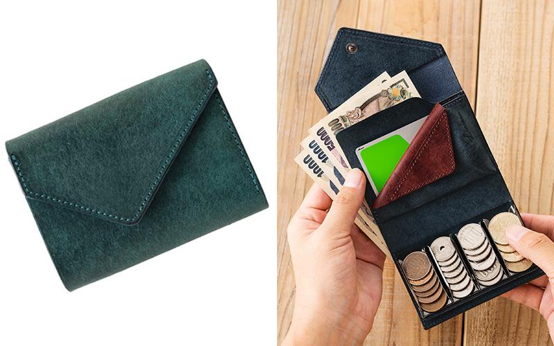 お札も収納できる人気のコインケース 【LITSTA】Coin Wallet 3