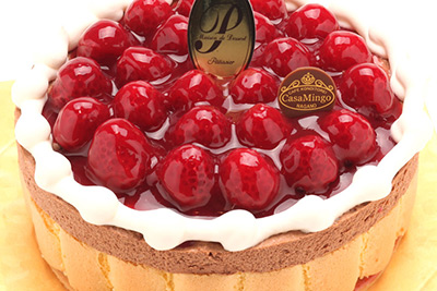 最高級洋菓子 ヴァルトベーレ 木苺チョコレートケーキ