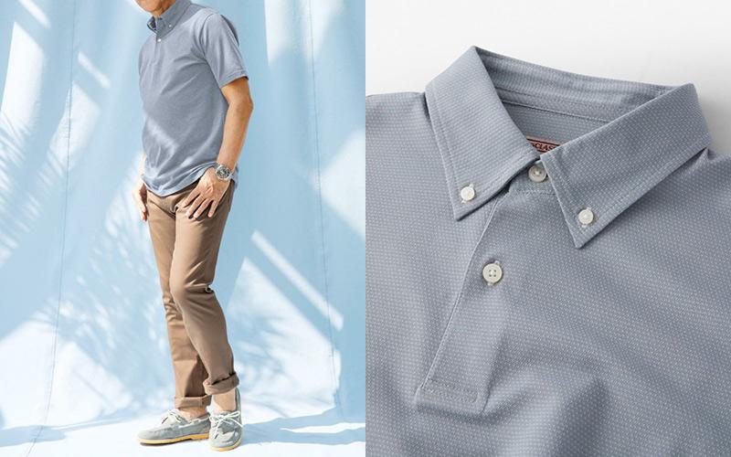 人気通販サイト「DoCLASSE」の高機能メンズ半袖ポロシャツ