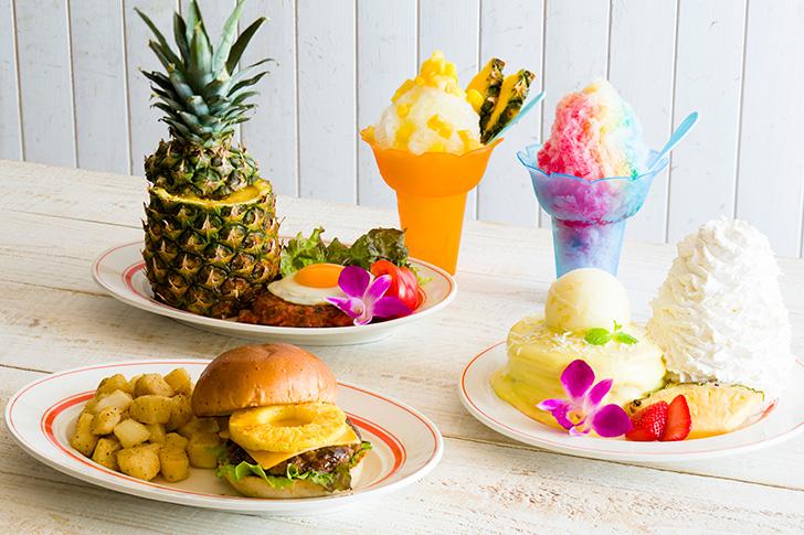 エッグスンシングス 「パイナップル」を贅沢に使用した夏の新メニュー